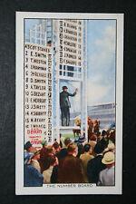 CHEVAL HIPPODROME Numéro PLANCHE ORIGINALE années 1930 vintage carte très bon état