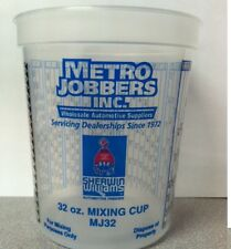 2 Cases Quart Plastic Paint Mixing Cups PPG Compare To EZMix 70032 200 Cups