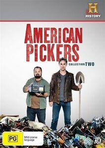 American Pickers - Season 2 -  2 Disc Set - New & Sealed Region 4 DVD.