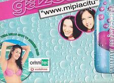 "GAZOSA DISCO MAXI SINGOLO 12"" WWW.MIPIACITU - TV SPOT - CATERINA CASELLI"