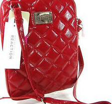 NEW! KENNETH COLE REACTION TECH TABLET IPAD HOLDER CROSSBODY BAG RED $40 SALE