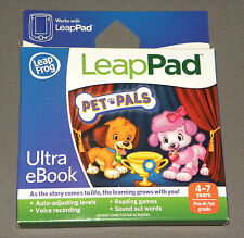 Pet Pals Ultra eBook Game Leap Frog Leap Pad LeapPad 2 Learning Games NEW