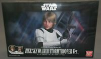 Star Wars Plastic Model Kit 1/12 Luke Skywalker Stormtrooper Ver. Bandai NEW***c
