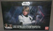 Star Wars Plastic Model Kit 1/12 Luke Skywalker Stormtrooper Ver. Bandai NEW***