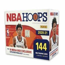 Panini 2020-21 NBA Hoops Basketball Mega Box (144 Cards)