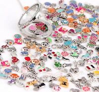 30Pcs Floating Charm For Living Memory Locket BABY FAMILY LOVE TKZP New.