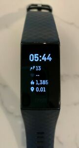 Fitbit Charge 4 Fitness Tracker Black - FB417BKBK