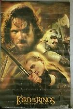 Rare Original Lord of the Rings The Two Towers Movie Poster 34 1/4'' x 22 1/4''