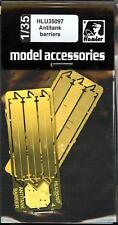 Hauler Models 1/35 ANTI TANK BARRIERS Photo Etch Set