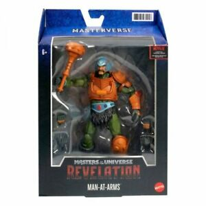 Masters of the Universe: Revelation Masterverse Actionfigur 2021 Man-At-Arms 18