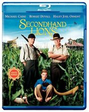 Secondhand Lions (Blu-ray Disc, WS, 2009)Robert Duvall Michael Caine NEW
