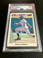 1990 Leaf #300 Frank Thomas Chicago White Sox RC Rookie HOF PSA 9 Mint FOX