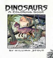 Dinosaur Coloring Book (Paperback) by William Stout