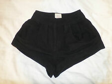 Ellery Black High waisted Shorts Size AU 8 Small RARE