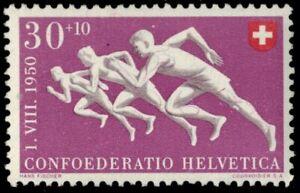 """SWITZERLAND B194 - Red Cross Fund """"Runners"""" (pb12162)"""