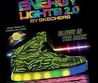 Skechers Swipe Energy Lights Version 2.0 Limited Edition Boy's Size 5.5 & 7