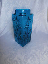 Blue Crystal Art Glass