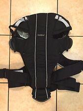 Baby Bjorn Baby Carrier Original Black Harness Euc