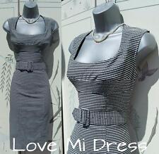 MAGICWEAR - M&S 50's Style Pencil/Wiggle Galaxy Dress 10 EU38 Bodysculpt!