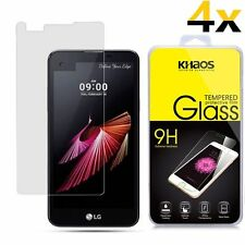4x KHAOS  Tempered Glass Screen Protector For LG Tribute HD
