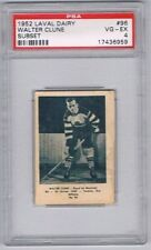 1952 Laval Dairy Subset Hockey Card Montreal Royals Walter Clune Graded PSA 4