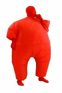 Adult Chub Inflatable Costume Suit Blow Up Purple Blue Red Pink Green 5 Colors