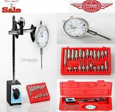 Mag Base Dial Indicator Magnetic Base Point Precision Inspection Set  Insize 3Pc