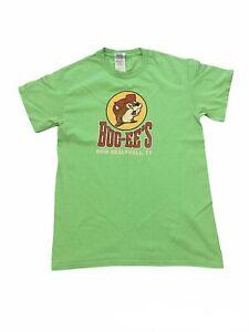 Buc-ees New Braunfel Texas Green T Shirt Small