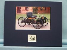 Henry Ford develops the Quadricycle honored by his own stamp