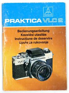 PENTACON Kamera Bedienungsanleitung PRAKTICA VLC 2 User Manual Anleitung (Y438