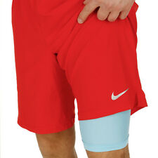 Nike Court 2-in-1 Training Short Pantalón Compresión Entrenamiento Tennis Tenis
