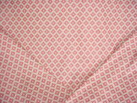 2-1/8Y Brunschwig & Fils 8017142 Baronet Strie Rose Lattice Upholstery Fabric