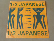 "HALF JAPANESE 7"" LIVE IN PRAGUE JAD FAIR ERL POSTCARD ROUND & ROUND 1992"