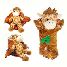 "11"" Swaddle Baby Giraffe Plush Doll Travel Blanket Babies by Fiesta NEW"