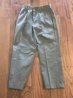 Dockers Men's Grey Khakis Size 32 x 30