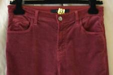 J Brand Marie Flare Velvet Jeans in Ox Blood Size 29