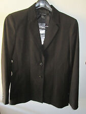 NWT Ultimate Concept Size 8 Classy Deep Black Jacket Tops Blouses Suits Blazers