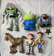 Vintage Toy Story Buzz Lightyear Disney Thinkway Mattel Action Figure Lot 1995