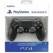 Original PS4 Playstation Controller Dual Shock 4 V2 Wireless DualShock Schwarz
