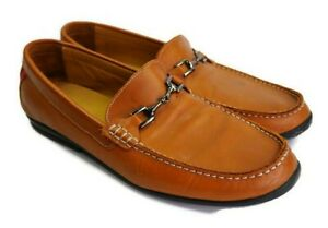 FootJoy Club Casual Mens Size 15 M Leather Loafer Chestnut Brown Horsebit 79008