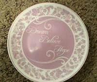 Dream Believe Hope Vintage Small Decorative Plate