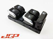 Audi A4 B8 Drivers O/S Right Window Switch Controls Chrome [2008-18] 8K0959851F