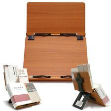 [Clover Plus] Book Stand Bible Wooden Reading Holder Desk Bookstand cookbook