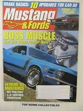 Mustang & Fords Magazine   Sept.  2001      Daniel Plana's  Hot Pink Pony