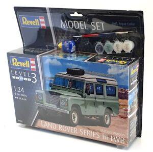 Revell 1/24 Scale Model Kit 07047 - Land Rover Series III LWB