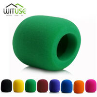 8 Colours Handheld Stage Microphone Karaoke DJ Windscreen Sponge Foam Mic Cover