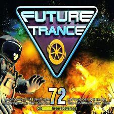 FUTURE TRANCE 72 - DAVID GUETTA/LOST FREQUENCIES/MARTIN GARRIX/+  3 CD NEU