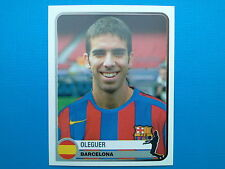 PANINI CHAMPIONS OF EUROPE 1955 - 2005 - N. 63 OLEGUER BARCELONA