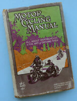 1927 ANTIQUE MOTORCYCLE MANUAL BOOK JAP BSA INDIAN HENDERSON NORTON TRIUMPH AJS