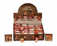 X-mas Figuren Geschenktüte Im Display Elch Engel Schneemann Weihnachten
